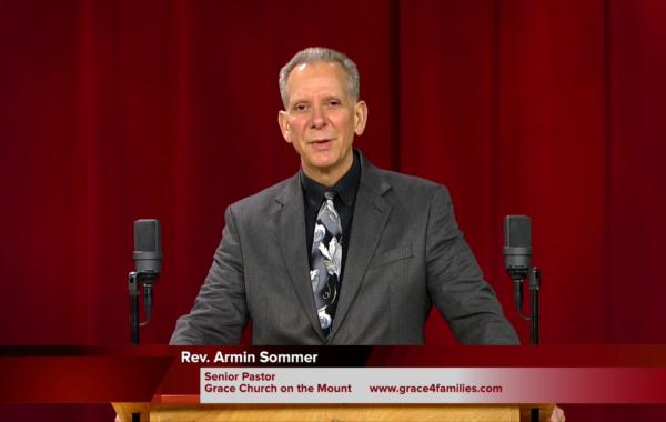 Rev. Armin Sommer on 3-10-2018