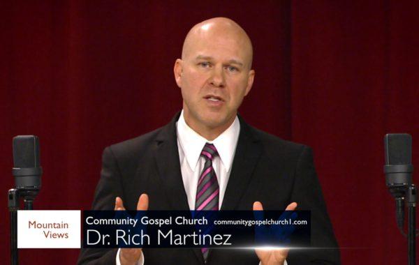 Dr. Rich Martinez on 4-28-2018