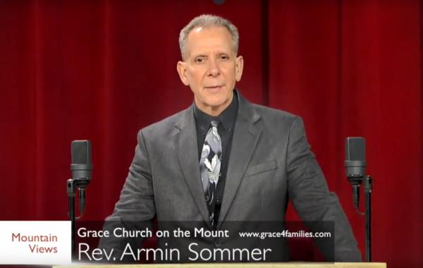 Rev. Armin Sommer on 8-4-2018