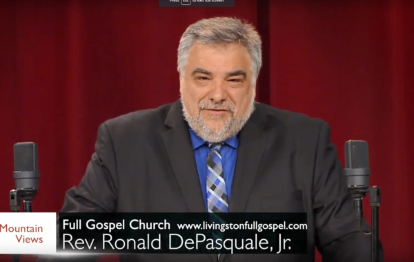 Rev. Ronald DePasquale on 9-22-2018